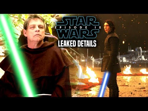 Star Wars Episode 9 Luke's Action Scene! Leaked Details Revealed (Star Wars News)