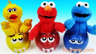 Learn Colors Muppets Elmo Big Bird Cookie Monster M&M