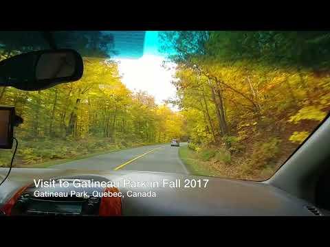 Gatineau Park Visit Fall 2017