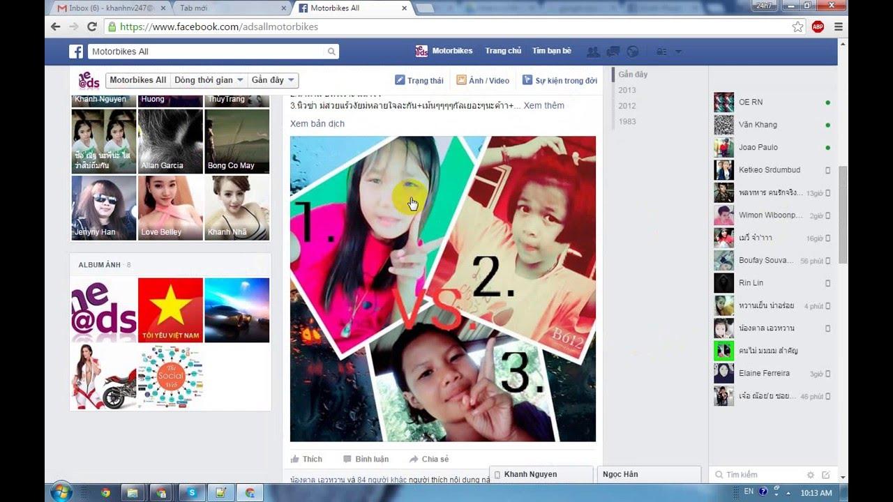 Cách chặn tag bạn bè và người khác trên facebook timeline của bạn