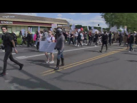 Olympia protesters bring