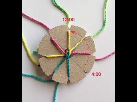 Плетение из ниток#2.