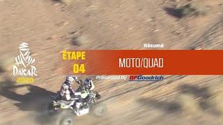Dakar 2020 - Étape 4 (Neom / Al Ula) - Résumé Moto/Quad