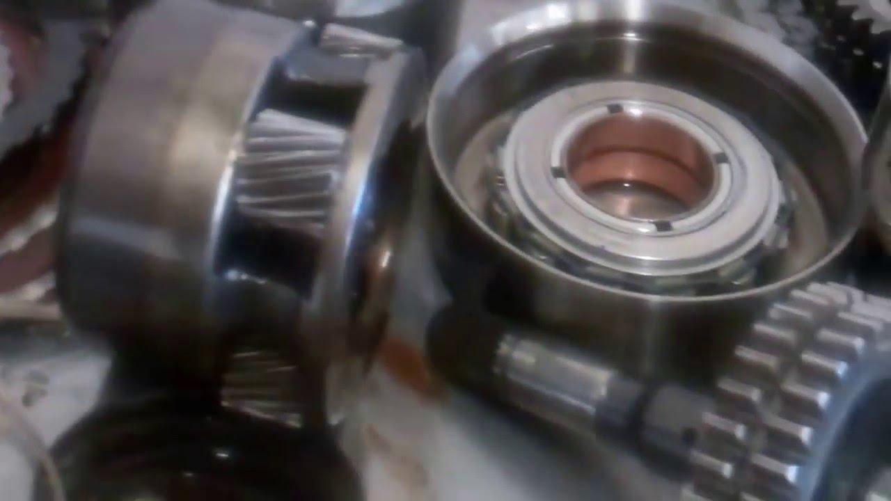 Chevy Uplander Transmission Man Tear Down