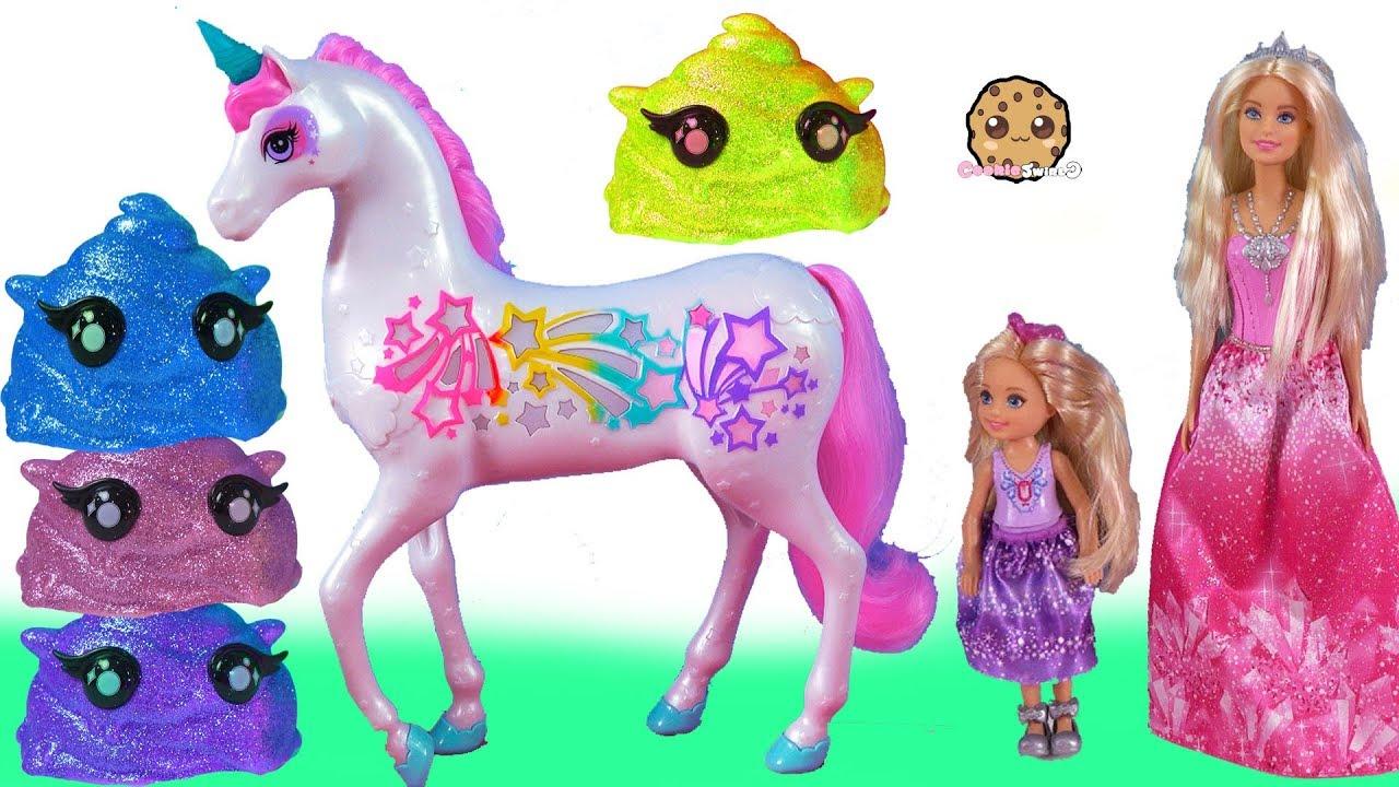 Barbie Rainbow Light Up Unicorn Cutie Tooties Surprise
