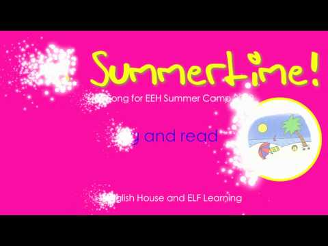 KARAOKE Summer Song - It's Summertime - ELF Learning
