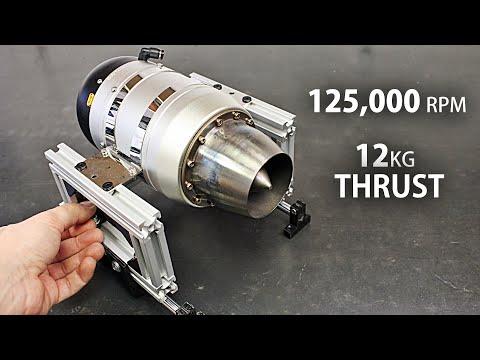 RC Jet Engine Thrust Test