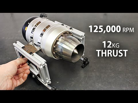 RC Jet Engine Thrust Test