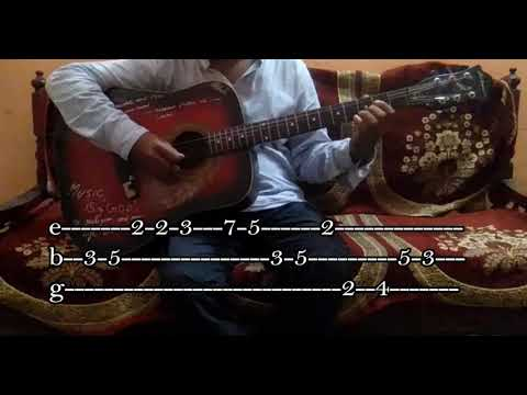 """""""Ae Watan""""Song Of """"Raazi""""/Easy Guitar Chords/Lesson/Tutorial/Guitar Cover/Independence Day special"""