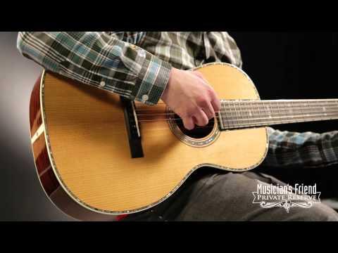 Martin Guitars Custom Century Series with VTS 00-42 Acoustic Guitar Regular