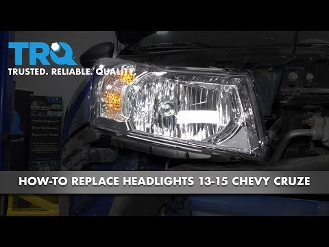 How To Replace Headlights 13-15 Chevy Cruze