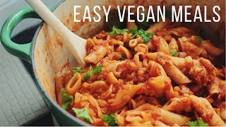 Easy Vegan Meals for Fall & Winter!
