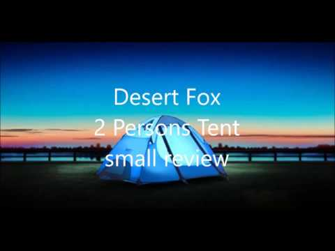 Desertfox 2 Persons tent minireview