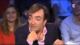 Jonathan Lambert est Eric Zemmour - On n'est pas couché 3 novembre 2012 #ONPC