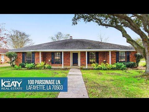 100 Parsonage Ln Lafayette, LA 70503 | Keaty Real Estate