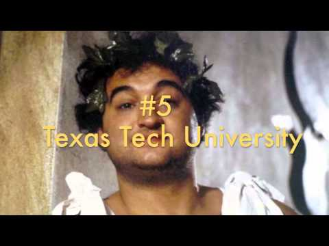 Top 10 Party Colleges in Texas