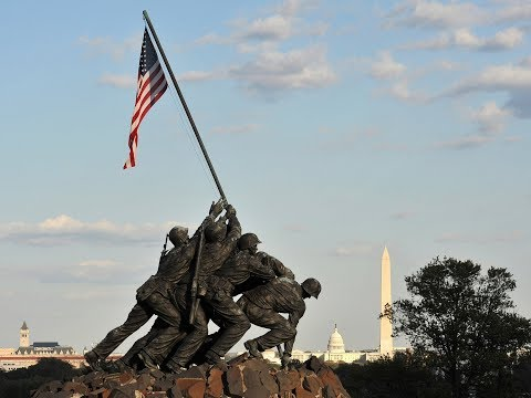 Afghanistan and Iraq engravings on the Marine Corps War Memorial | Marines