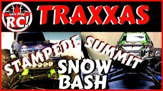 Gambar cover Traxxas Stampede 4x4 & Traxxas Summit Snow Bash /Lets Play RC!