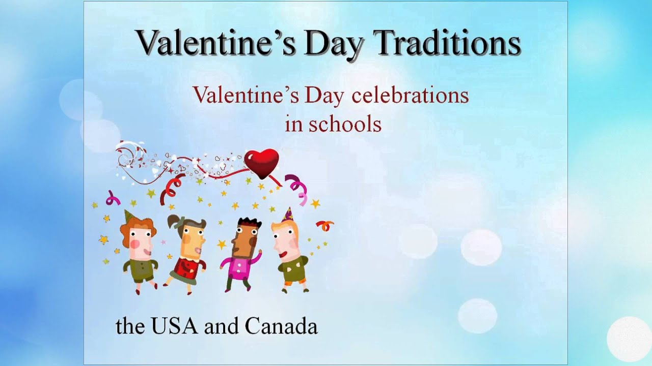 Valentine's Day Traditions - YouTube