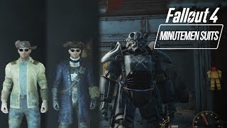 Fallout 4 - Minutemen Outfits Paint Armor How to get General s Minutemen Uniform