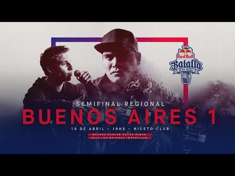 Semifinal Regional Buenos Aires 1, Argentina 2018 - Red Bull Batalla de los Gallos