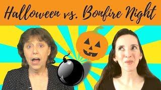 Halloween vs. Bonfire Night or Guy Fawkes Night