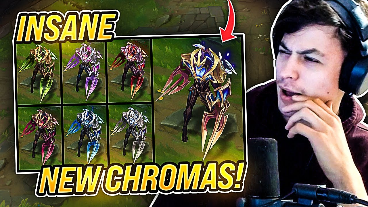LL STYLISH | NEW GALAXY SLAYER ZED CHROMAS ARE INSANE