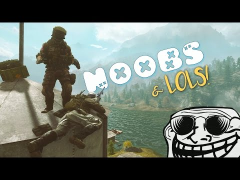 BF4 - NOOBS & LOLS! (Trolling Snipers & Battlefield Funny Moments!)