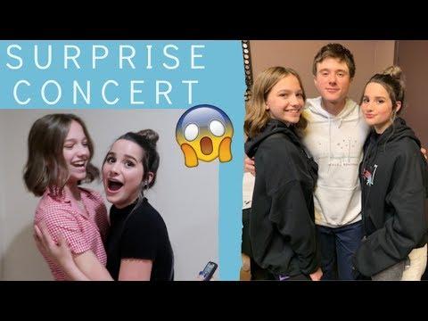 Surprised Annie W/ Alec Benjamin Tickets! 😀🎤   Jayden Bartels