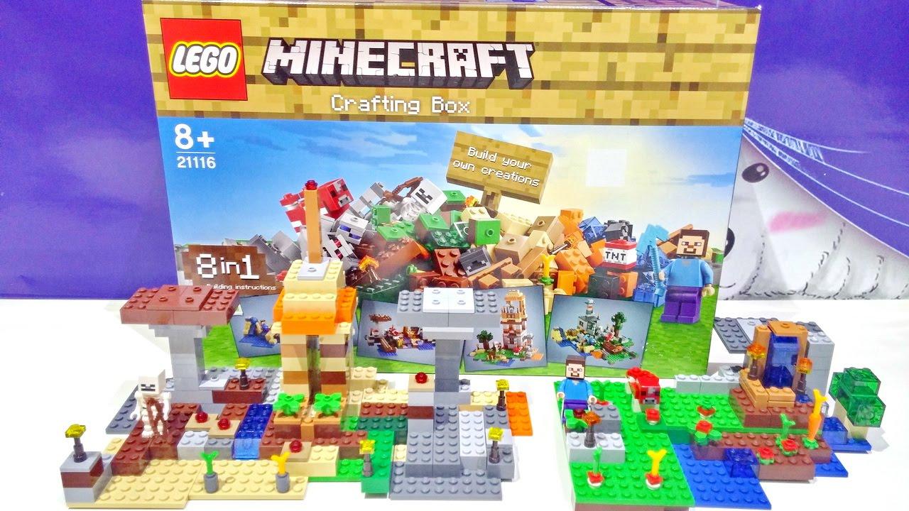 Minecraft The Crafting Box Lego