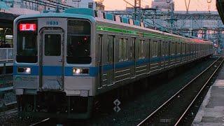 【野田線へ転属】東武10030系11633F転属回送入線〜発車電笛付き