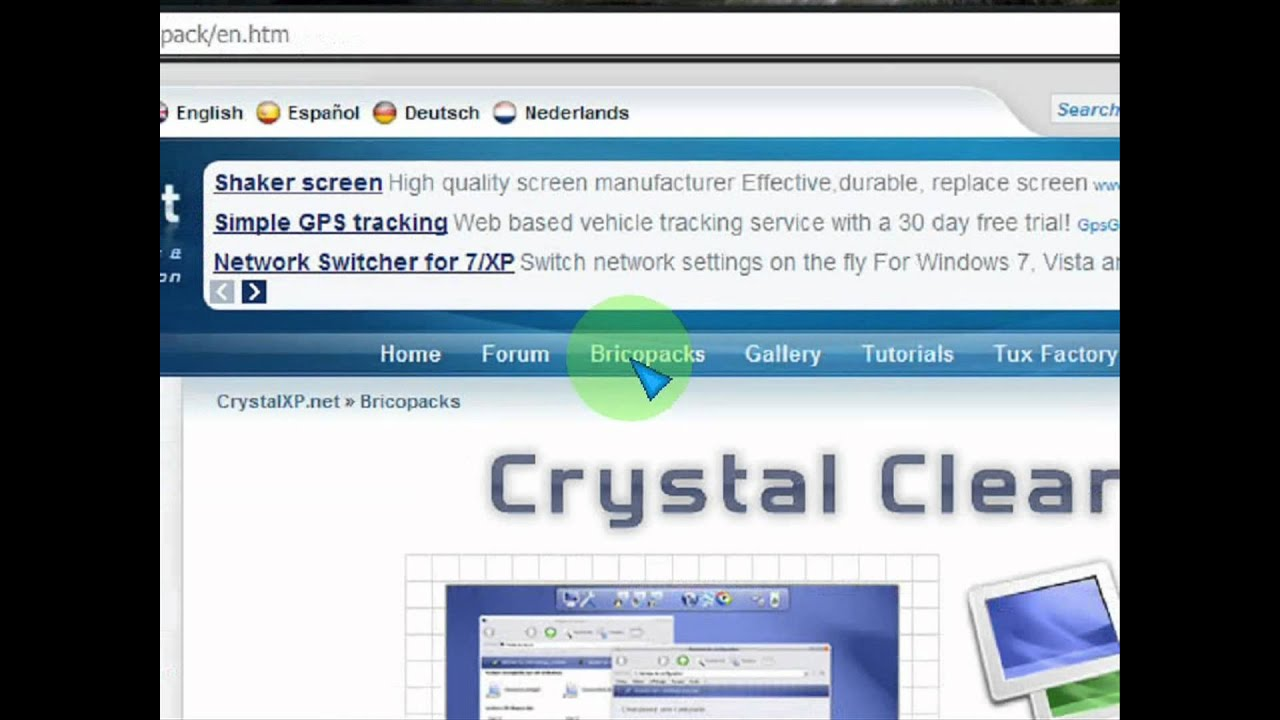 Download Windows Vista Transformation Pack for Xp (100%)