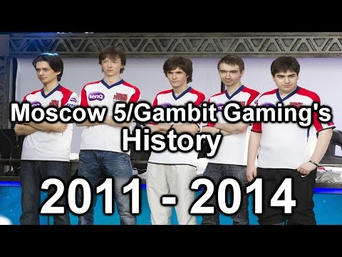 League of Legends - Moscow 5/Gambit's History