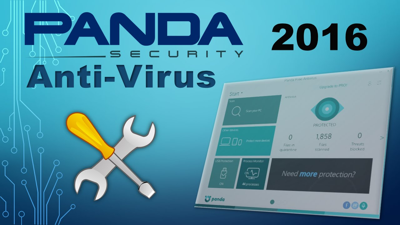 Panda Free Anti-Virus 2016 Review (Installation)