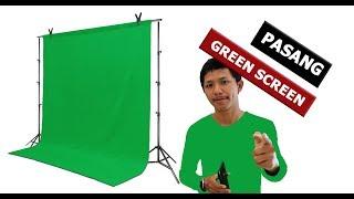Download lagu Cara Memasang Green Screen Tanpa Modal Membuat BOKEH MP3