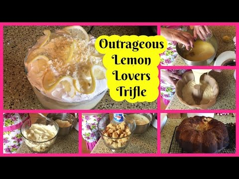 Tasty Tuesday ~ Outrageous Lemon Lovers Trifle