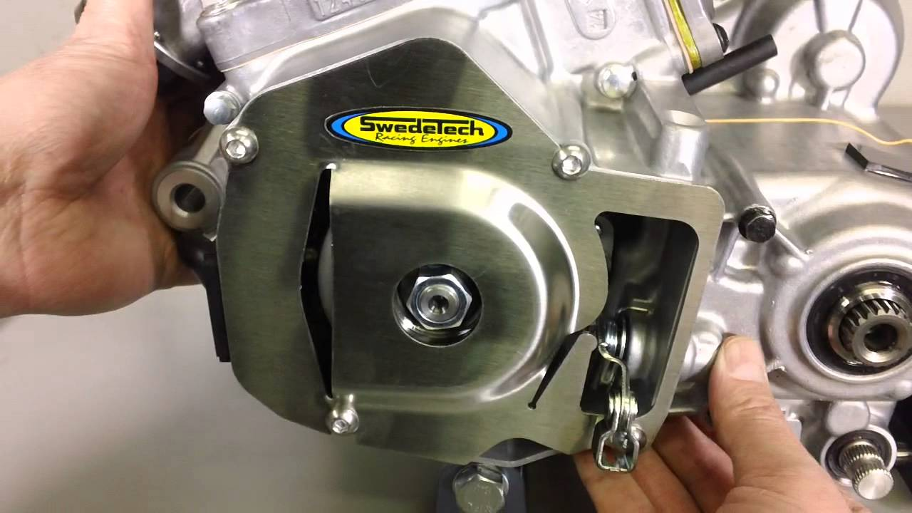 SwedeTech How To Install the Honda CR125 Flywheel and Stator Cover