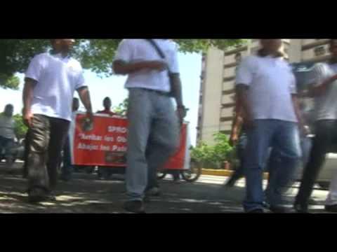 Trabajadores de Puerto Cabello se levantan ante el fascismo