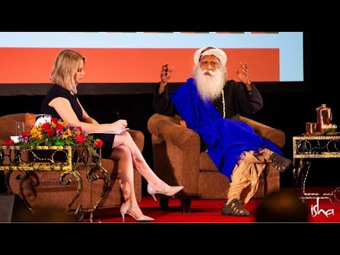Sadhguru at the Sustainability Summit Asia 2018 - Solutions for a Sustainable Future