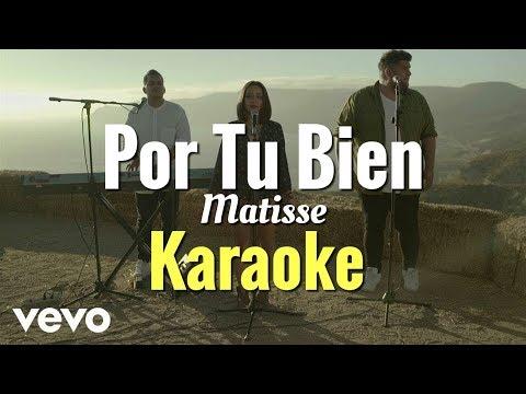 Matisse - Por Tu Bien KARAOKE (Acústico) piano