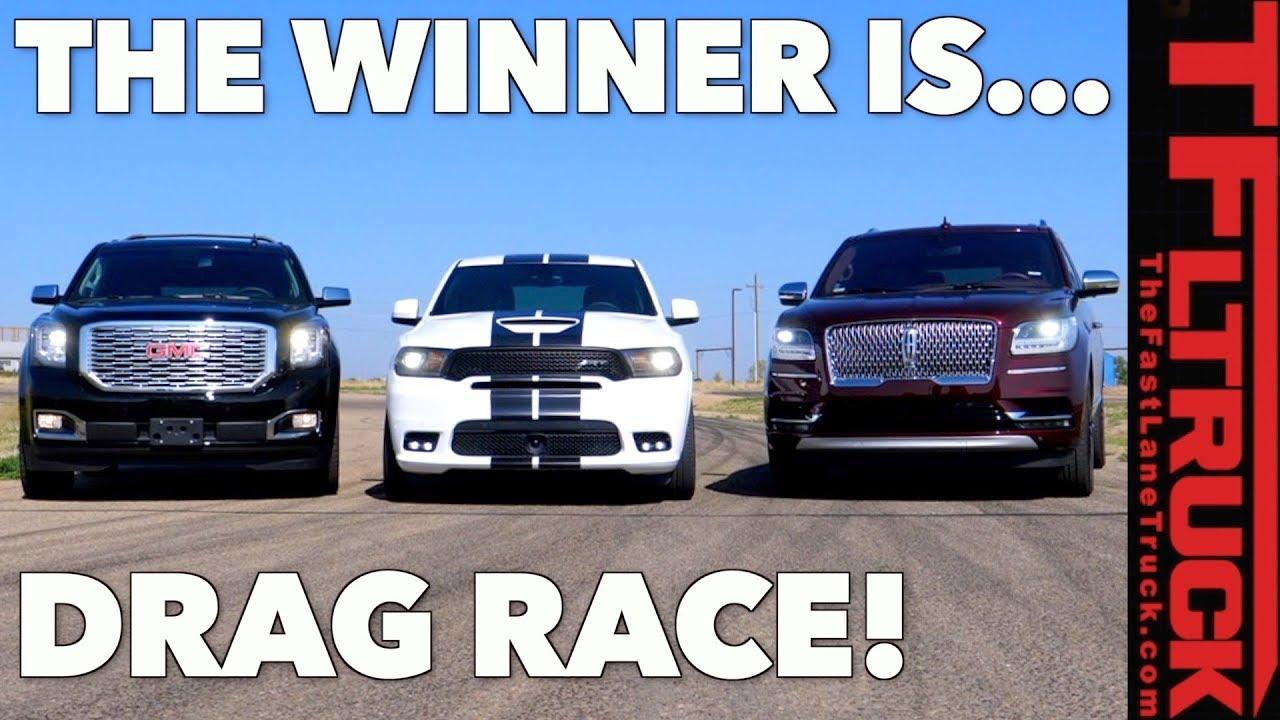 Ford Vs Dodge >> All American Big Ass Truck Drag Race Gmc Vs Ford Vs Dodge