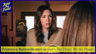 "Francesca Battistelli shares tнe story of her new song ""God is Good."""