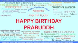 Prabuddh   Languages Idiomas - Happy Birthday