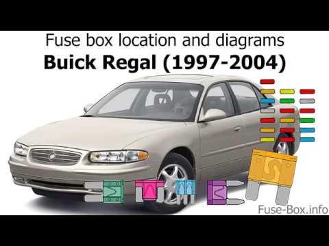 fuse box location and diagrams: buick regal (1997-2004) - youtube  youtube