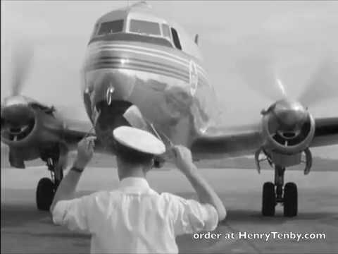 Trans Canada Airlines 1940s 1950s From NFB Lodestar DC-3 Northstar Connie Viscount And More!