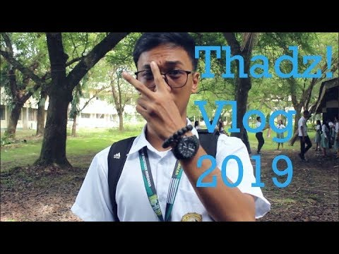PHYSICAL EDUCATION VLOG   THADZ! VLOGS 2019