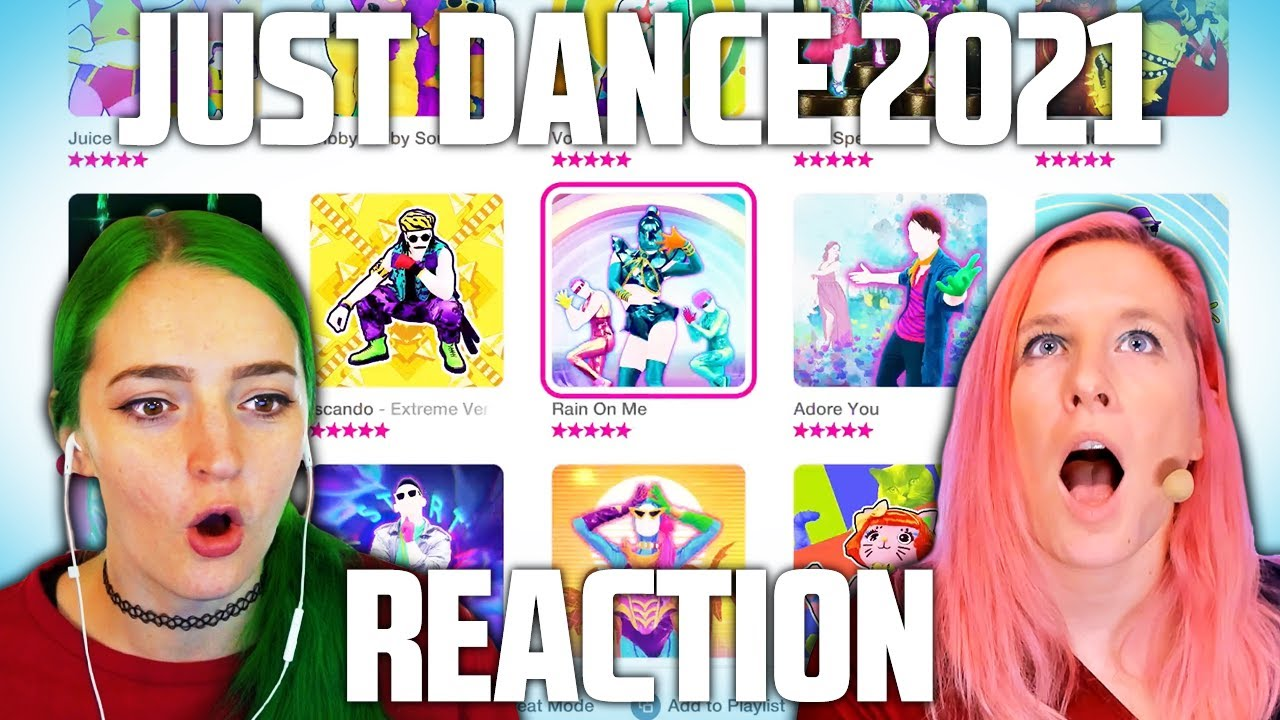 JUST DANCE 2021 FULL GAME REACTION (new Quick Play mode ...