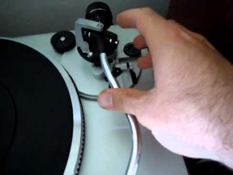 How to set up your Turntable's Tonearm - weight and antiskate