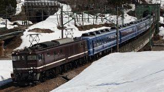 EF641001牽引 高崎12系回送 上越線