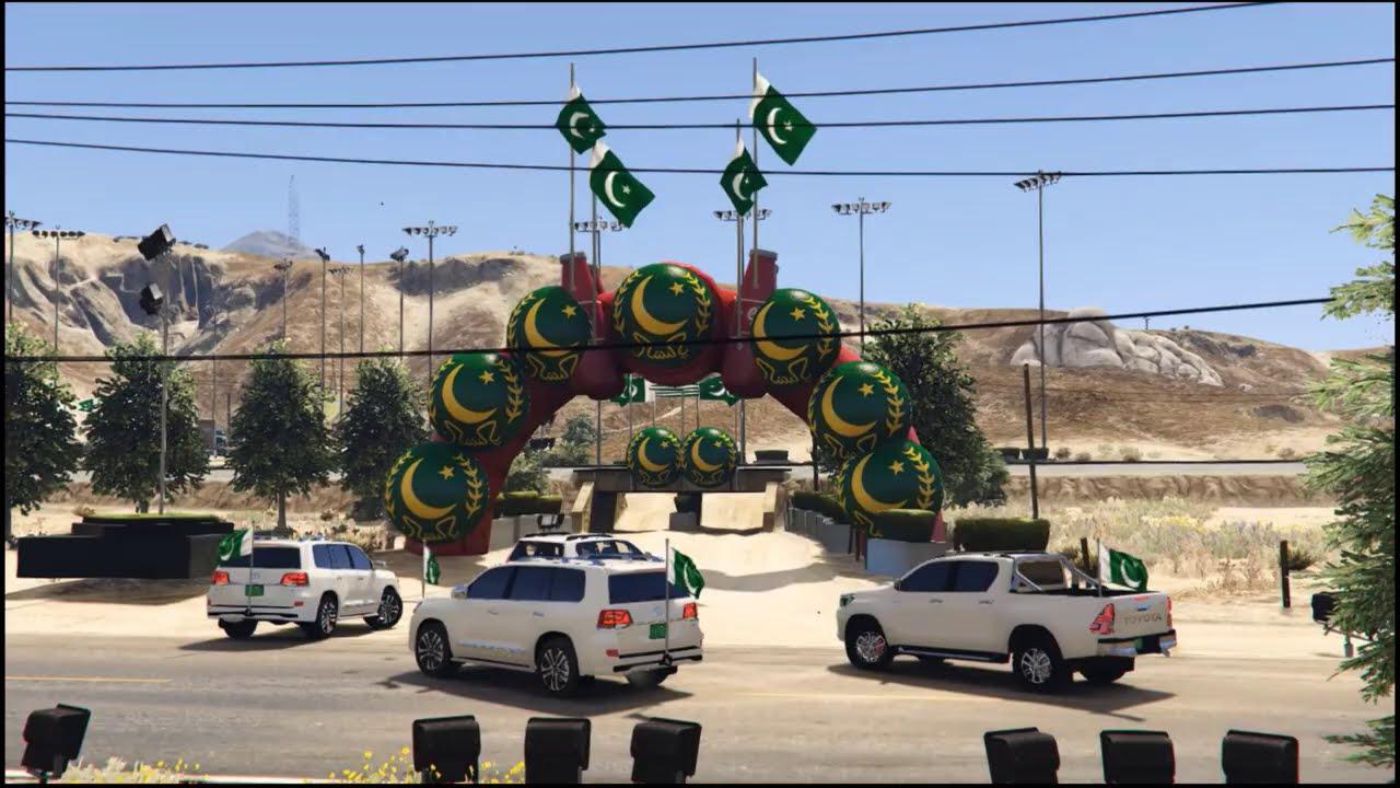 Gta 5 Pakistan | 14th August | Special | Dil Dil Pakistan(Pashto Version) | Ye Watan Tumhara hai